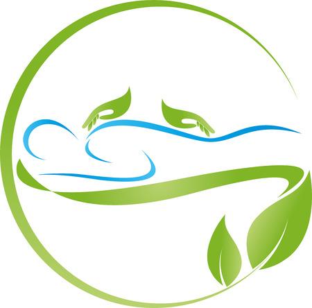 Human, massage, naturopath, hands
