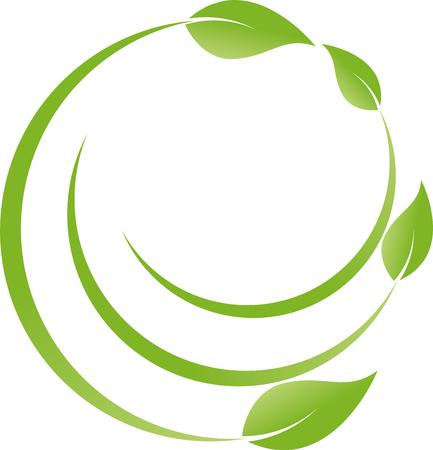 leaf logo: Leaves, plants, organic, nature Illustration