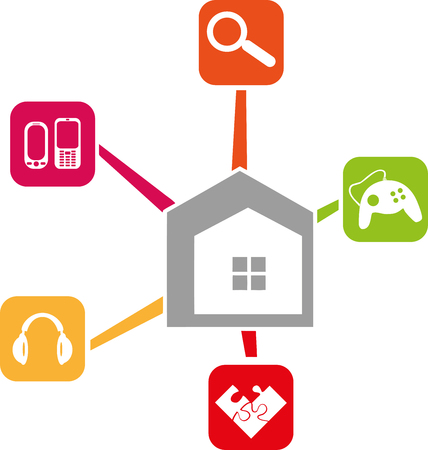 Home and Apps, Internet, Apps vector