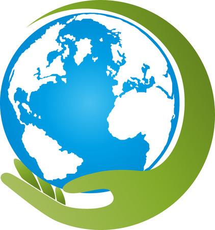 Earth, globe, world globe, hand