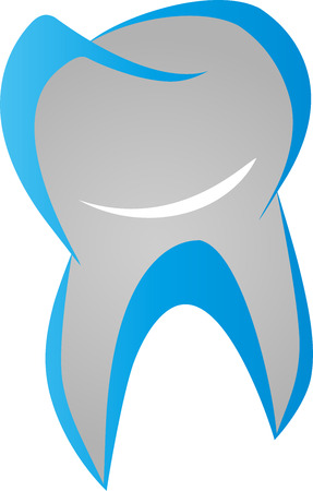 Tooth with smile, dentist, dental care, sign Archivio Fotografico - 100998436