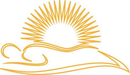 Person, Sun, Tanning salon, Solarium, Icon Illustration