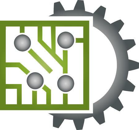 Gear, Chip, Circuit Board, Green IT, IT Services