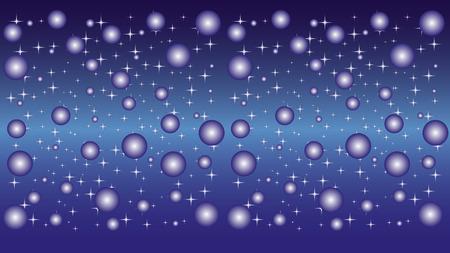 Stars, globe, sky, background