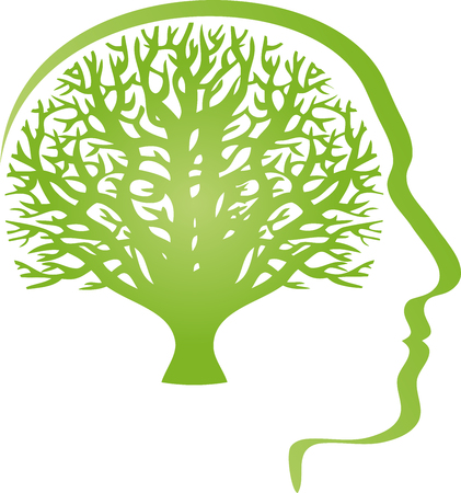 Head, tree, person, brain, naturopath, human
