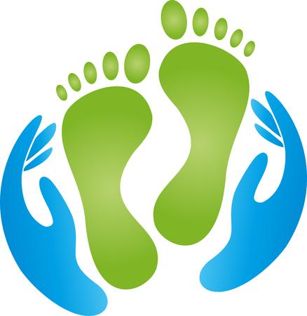 Füße, Hände, Pediküre, Massage, Physiotherapie
