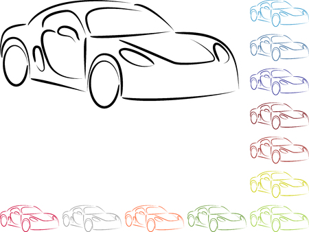 Car sports car, sports cars, collection