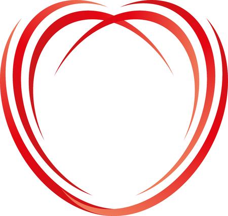 Heart, spiral, circles, love