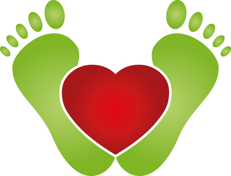 Feet and heart, foot care, lifestyle