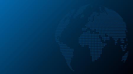 Earth ball, globe, background, world map globe  イラスト・ベクター素材