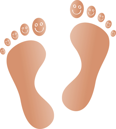 Feet, smile, foot care, lifestyle
