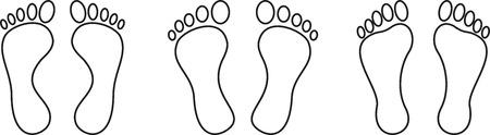 Füße, Fußpflege, Podologie, Sammlung