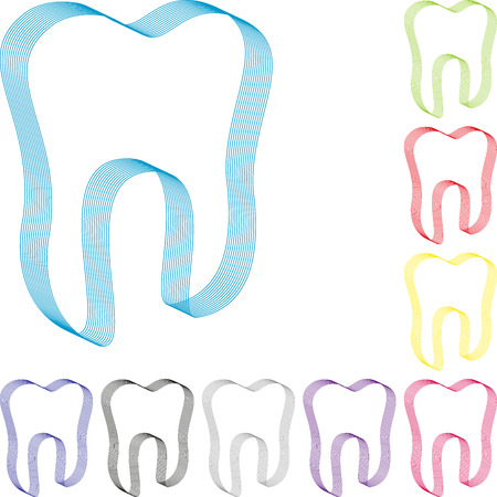 Teeth collection, tooth, dentistry, dental care