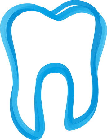 Tooth of lines, dentistry, tooth, dental care