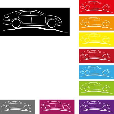 Sport car, car collection, sport car collection