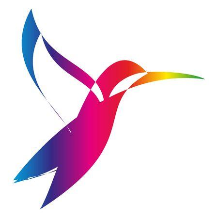 Hummingbird colored, hummingbird, animal, bird