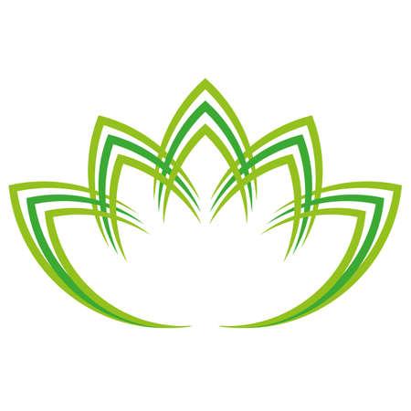 Flower, plant, leaves, massage, gardener, icon Çizim