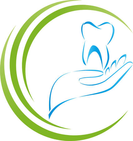 Tooth and hand, tooth, dentistry, dentist