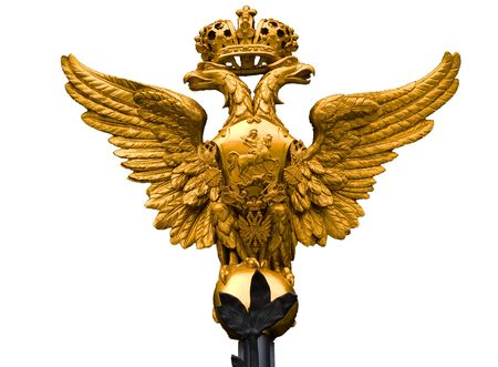 hermitage: Monarch National Emblem of Russia the Hermitage Museum Gate