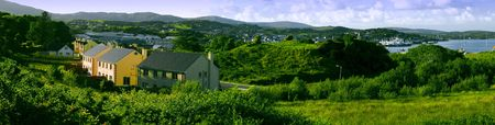 sity: The nature`s panorama of Killybegs sity Stock Photo