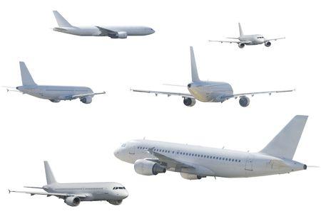 several aircraft
