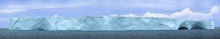 hi resolution: Isla de hielo de la Ant�rtida. Hola resoluci�n 54 MP