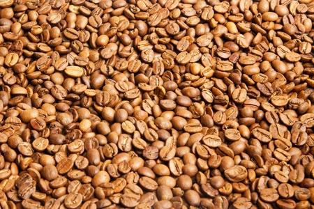 Coloured coffee texture  Coffee beans closeup  photo