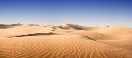 dune: Desert Gold en las Islas Canarias al atardecer, Maspalomas Canarias Gran Canaria, Ciudad del Resort Foto de archivo