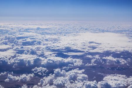 cumulus cloud: Cloudscape. Cielo blu e nube bianca. Giornata di sole. Cumulo.