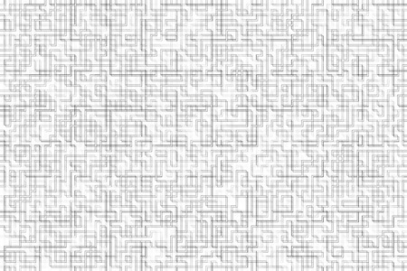 Grey lines on a white background forming cell maze. Pattern abstract background photo