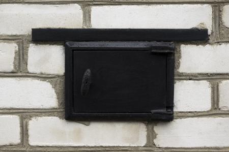 door from stove photo