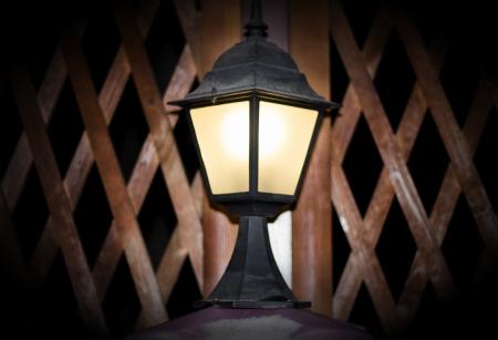 wrought-iron lantern photo