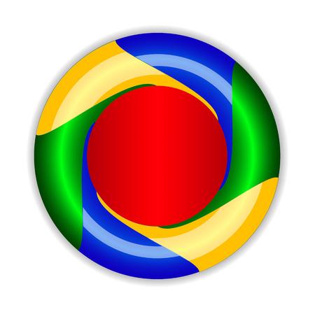 infinite loop: abstract Infinite. loop template. Corporate icons. EPS10