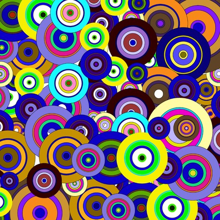 circles  colorful pattern, Eps10. vector Vector