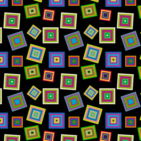 square colorful pattern vector Vector