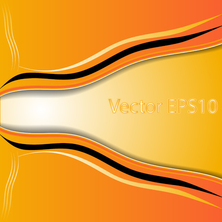 elegant  abstract orange background elegant EPS10 vector Vector