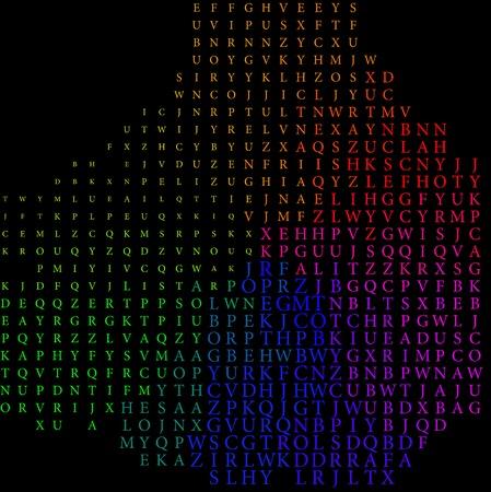 Abstract colorful vector of alphabet  Vector, EPS10 Vector