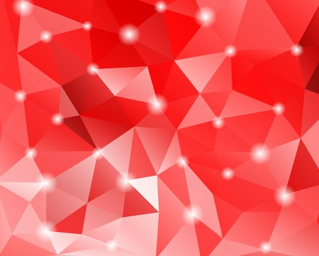 Abstract geometric background with polygons. Vector illustration.  Vector