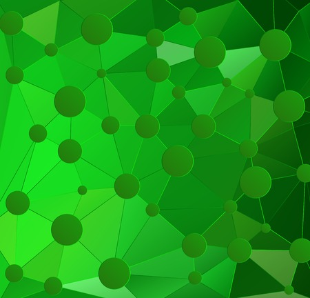 Abstract geometric background with polygons. Vector illustration. EPS10 Vector