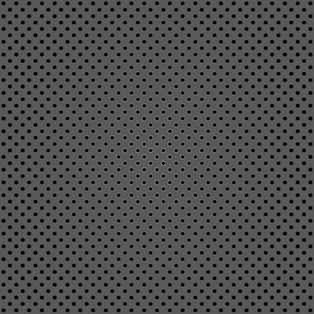 paillette: Seamless background with shiny silver paillettes. Vector.