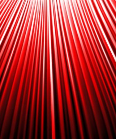 background of redluminous rays. Vector illustration.  Stock Vector - 28136333