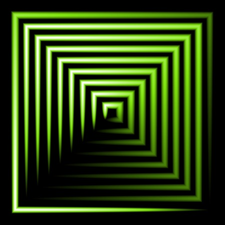 green neon square vector background. abstract. Vector.  Vector