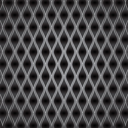 grey Abstract metal background. Vector illustration Vector