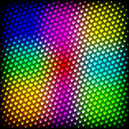 Abstract spectrum dark background with colored sparkles. photo