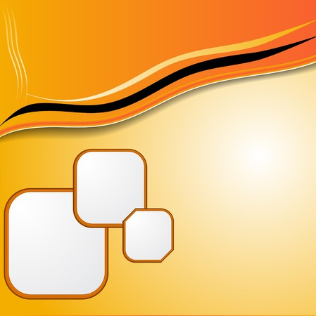elegant  abstract orange background elegant. Raster copy photo