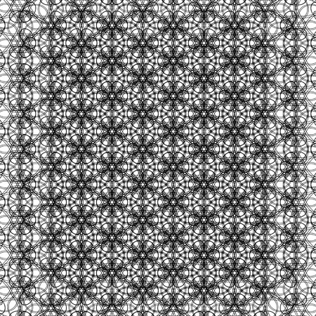 abstract vintage geometric wallpaper pattern background.  illustration. Stock Photo