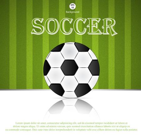 Soccer ball.  photo
