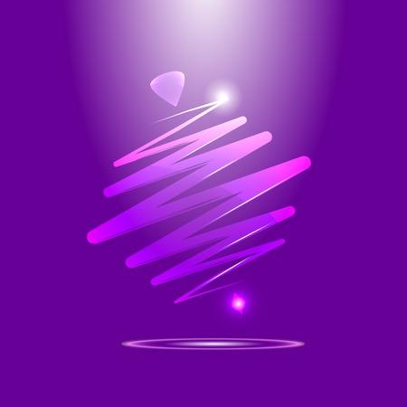 perinola: moderna perinola color, sobre un fondo abstracto. Whirlabout r�pida. Luminoso peonza.