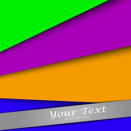 design with color banners website, presentation template, abstract background. Vector