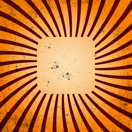 Vintage template. Rays. Abstract background with a blank texture. Vector